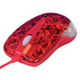 A4Tech Мышь X6-999D rose red optical GLaser 2X Click USB